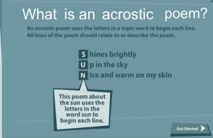 how to write a name poem Make an acrostic name poem with your own name and photo in a jiffy share the poem with friends on facebook.