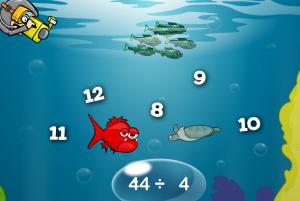 division smartboard game
