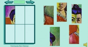 famous painting smartboard game