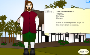 william shakespeare lesson smartboard game
