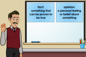 fact and opinion smartboard game