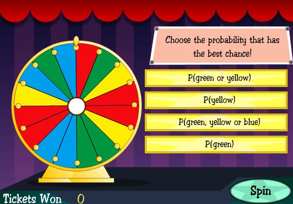 probability smartboard game
