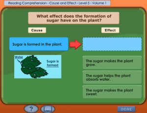 cause and effect smartboard game