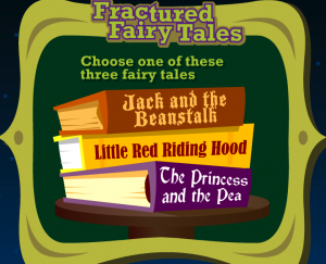fractured fairy tale activity smartboard game