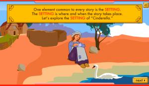 cinderella story elements smartboard game