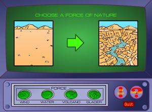 erosion smartboard game