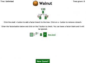 prime factorization smartboard game